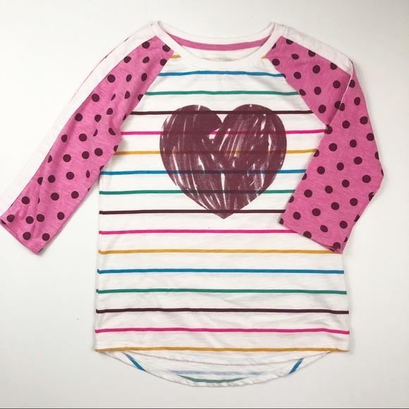 8679d4a758 Cat & Jack Shirts & Tops | Cat Jack Girls 1012 Striped Long Sleeve ...
